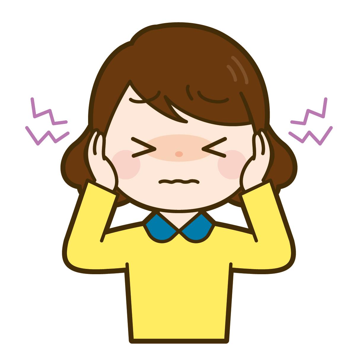 慢性中耳炎のイメージ