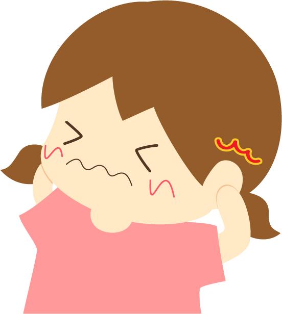 急性中耳炎のイメージ